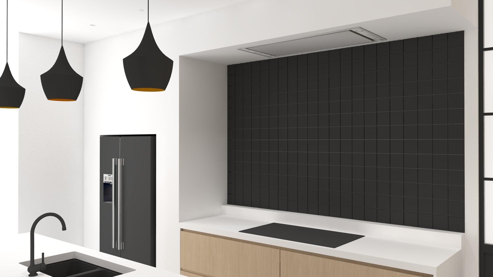 interieurarchitectuur nieuwbouw keuken