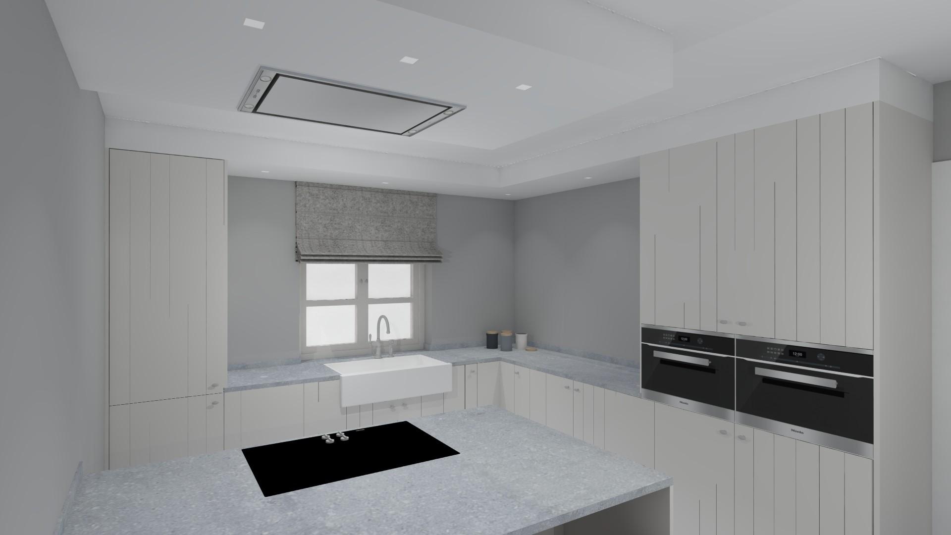 interieurarchitectuur renovatie keuken