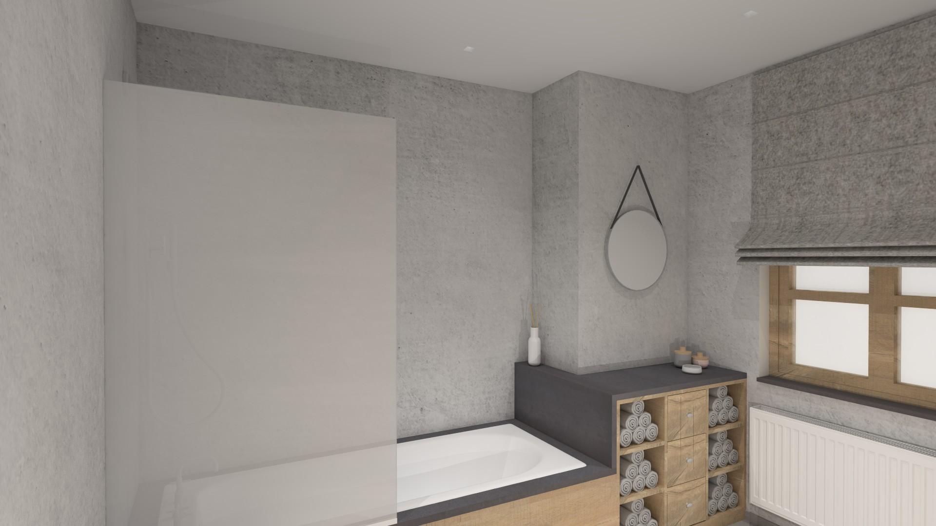 interieurarchitectuur renovatie badkamer