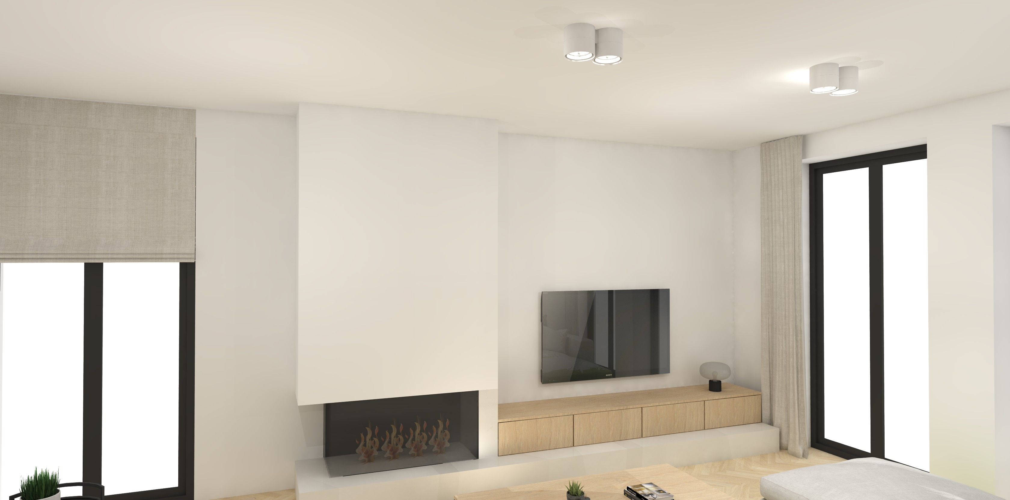 interieurarchitectuur nieuwbouw woonkamer